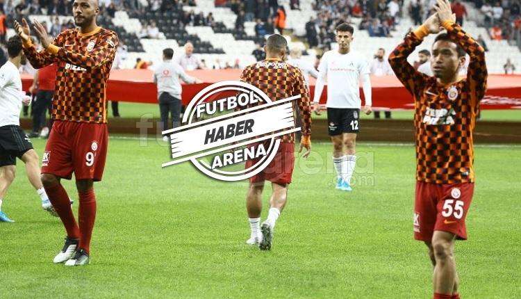 Galatasaray taraftarlarından derbide Belhanda'ya tepki