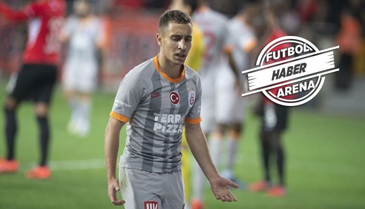 Galatasaray'da Fatih Terim'den Emre Mor kararı