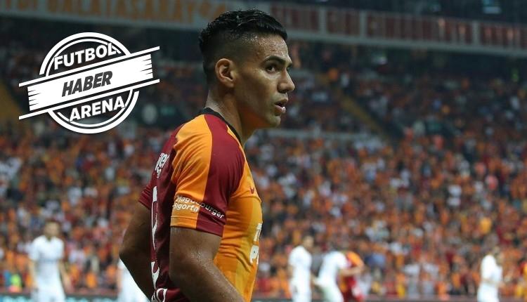 Galatasaray'da şaşırtan Falcao gerçekleri! İspanya'ya gitti
