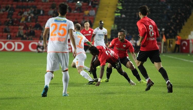 Gazişehir FK 1-1 Aytemiz Alanyaspor, beIN Sports maç özeti ve golleri (İZLE)