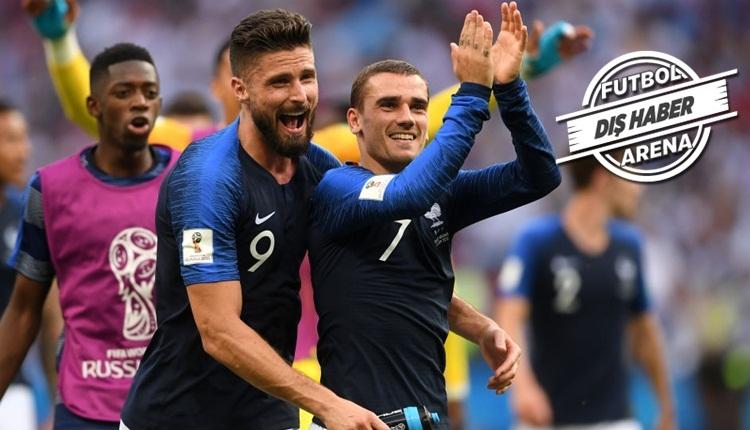 Giroud ve Griezmann, Türkiye'ye meydan okudu! 'İntikam vakti'