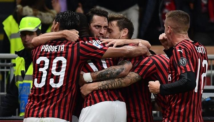 Hakan Çalhanoğlu, Milan'da bu sezon ilk golünü attı (İZLE)