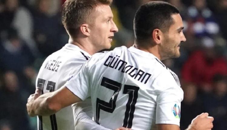 İlkay Gündoğan'dan 2 gol 1 asist (Estonya 0-3 Almanya maç özeti ve golleri)
