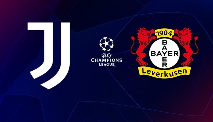 Juventus - Bayer Leverkusen canlı ve şifresiz izle (Bein Sports Max 1 İZLE)