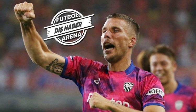 Lukas Podolski'den transfer sözleri!