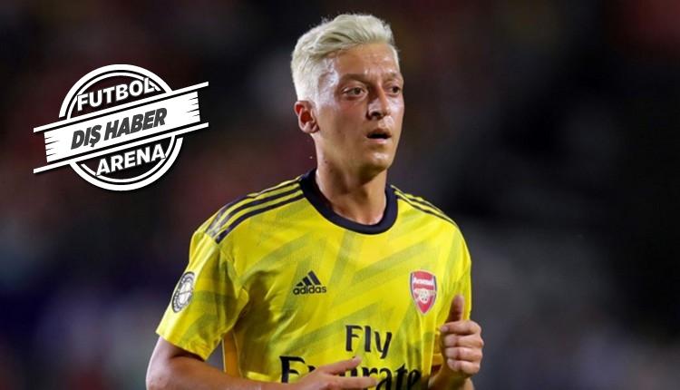 Mesut Özil için Arsenal'den transfer açıklaması
