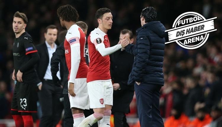 Mesut Özil ile Emery arasında buzlar eridi! 'Görüştük'