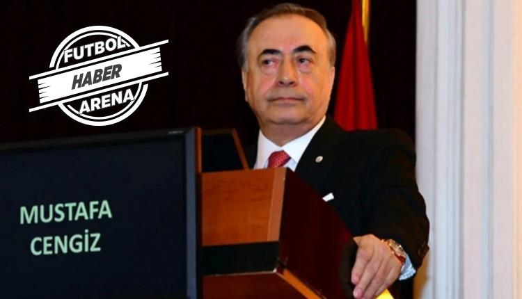 Mustafa Cengiz: 'Galatasaray yüzde yüz yerli'