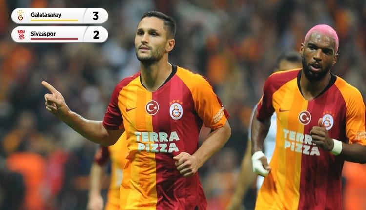 Nefes kesen maçta kazanan Galatasaray! (İZLE)