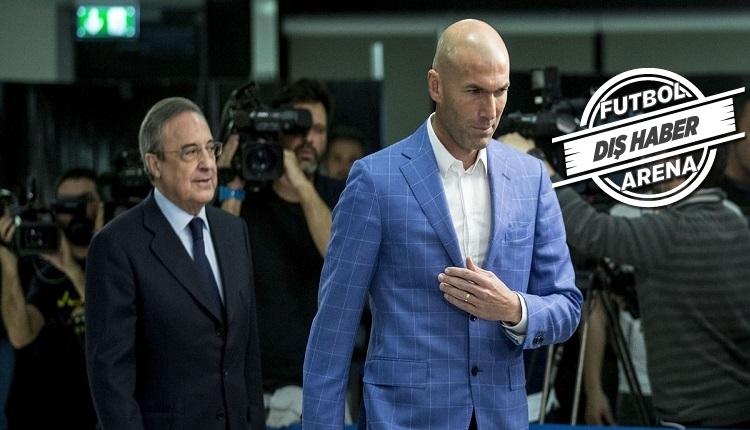 Real Madrid yönetiminden Zidane'a: