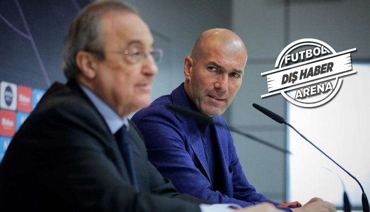 Real Madrid'de Zidane gerilimi! Florentino Perez'in öfkesi