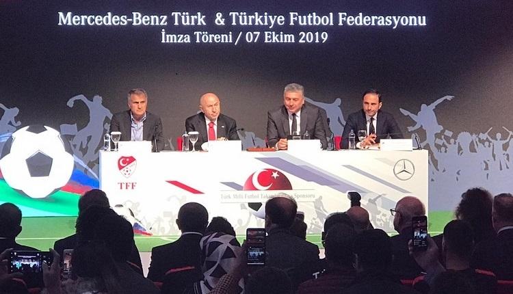 TFF ile Mercedes arasında sponsorluk anlaşması