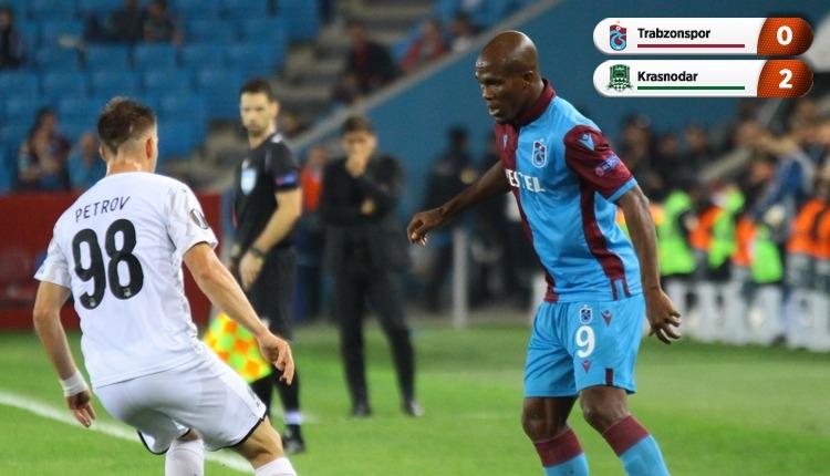 Trabzonspor 0-2 Krasnodar, beIN Sports maç özeti ve golleri (İZLE)