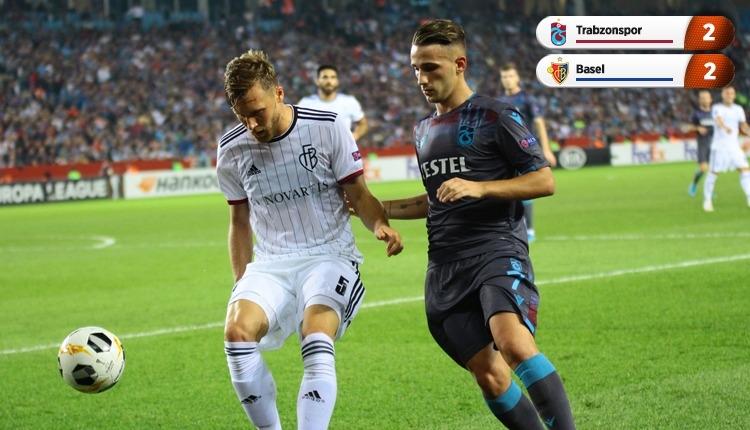Trabzonspor 2-2 Basel, beIN Sports maç özeti ve golleri (İZLE)