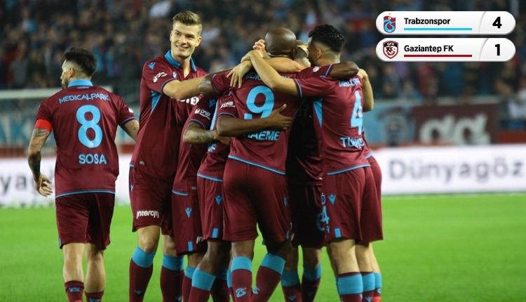 Trabzonspor 4-1 Gaziantep FK, beIN Sports maç özeti ve golleri (İZLE)