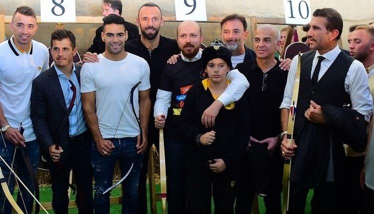 Vedat Muriqi ve Falcao ok atma yarışı İZLE