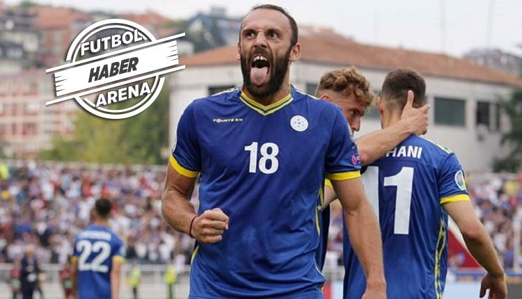 Vedat Muriqi'nin golü (İZLE) - Kosova Karadağ