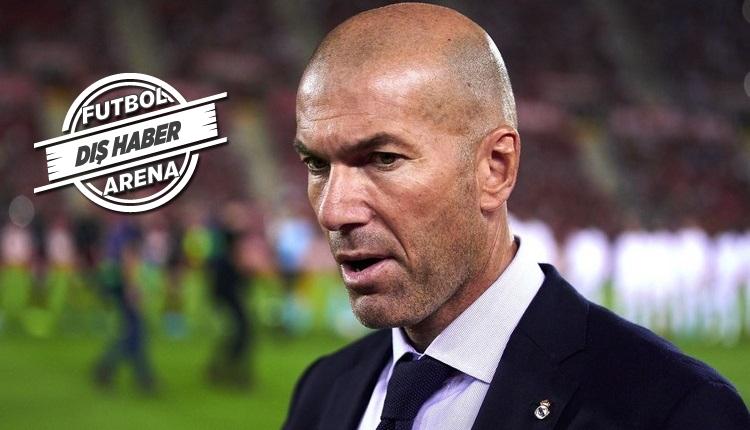 Zidane'dan Galatasaray açıklaması!