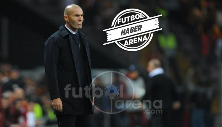 Zidane'ın Galatasaray maçı sonrası dikkat çektiği detay