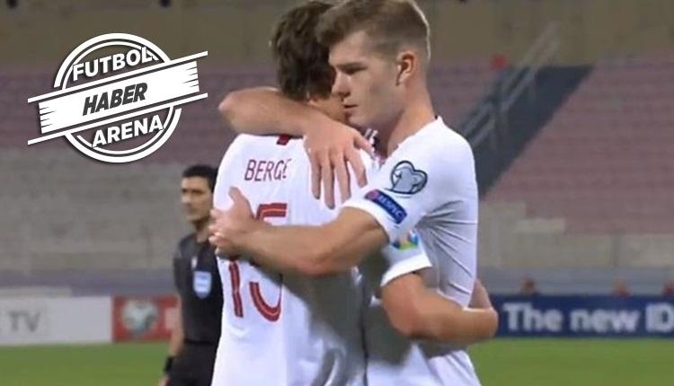 Alexander Sörloth'un Malta'ya attığı gol (İZLE)