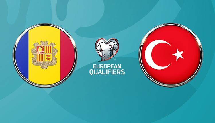 Andorra - Türkiye maçı 11'leri belli oldu