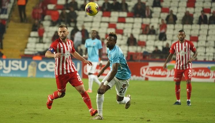 Antalyaspor 1-1 Gaziantep FK maç özeti ve golleri (İZLE)