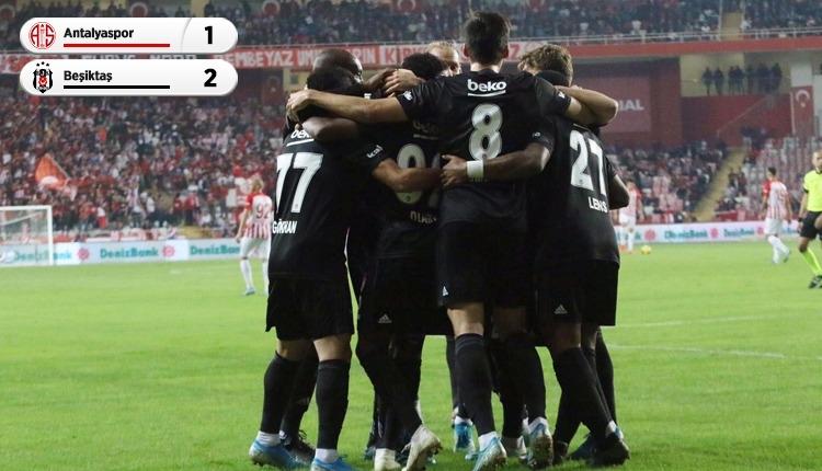 Antalyaspor 1-2 Beşiktaş, beIN Sports maç özeti ve golleri (İZLE)