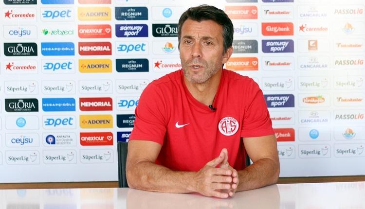 Antalyaspor'dan Bülent Korkmaz açıklaması!