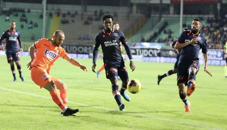 Aytemiz Alanyaspor 0-0 Medipol Başakşehir, beIN Sports maç özeti (İZLE)