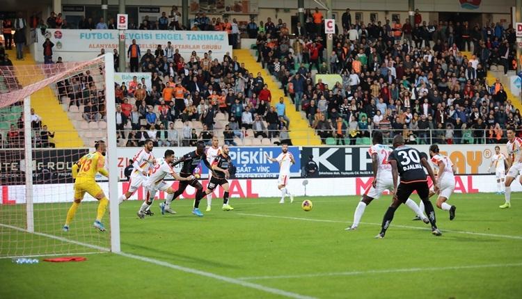 Aytemiz Alanyaspor 0-1 Göztepe maç özeti ve golü (İZLE)
