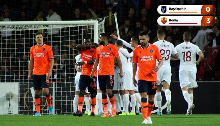 Başakşehir 0-3 Roma, Bein Sports maç özeti ve golleri (İZLE)