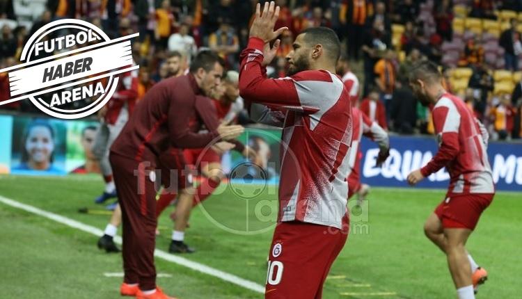 Belhanda ve Galatasaray taraftarları arasında buzlar eridi