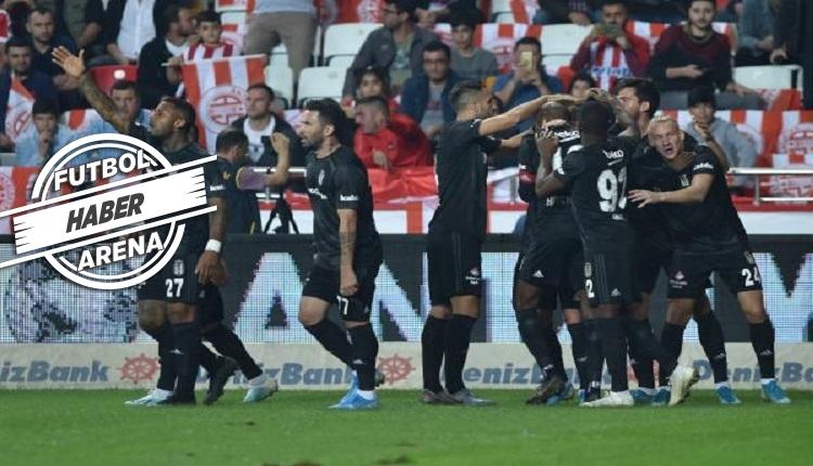 'Antalya'da 5 dakikada Beşiktaş efsanesi gibi'