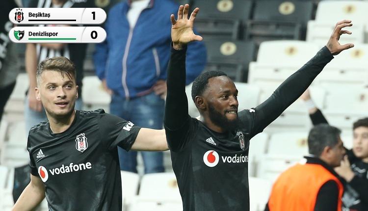 Beşiktaş, Denizlispor'u tek golle geçti (İZLE)