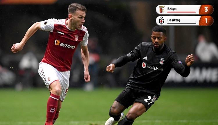 Braga 3-1 Beşiktaş, beIN Sports maç özeti ve golleri (İZLE)