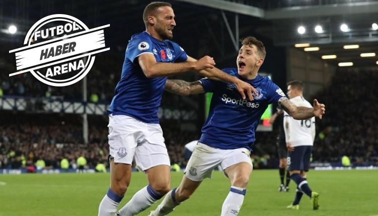Cenk Tosun'un golü İZLE (Everton 1-1 Tottenham)