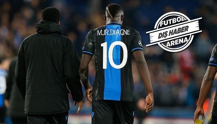 Diagne Club Brugge'da yine kadro dışı! Kriz büyüyor