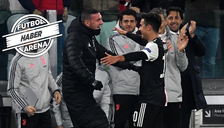 Dybala gol sonrası Merih Demiral'a asker selamı verdi