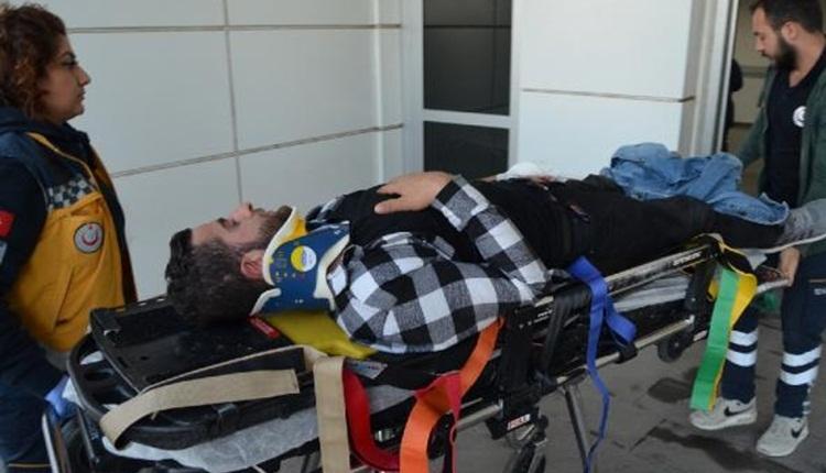 Fenerbahçe taraftarları Kayseri yolunda kaza yaptı