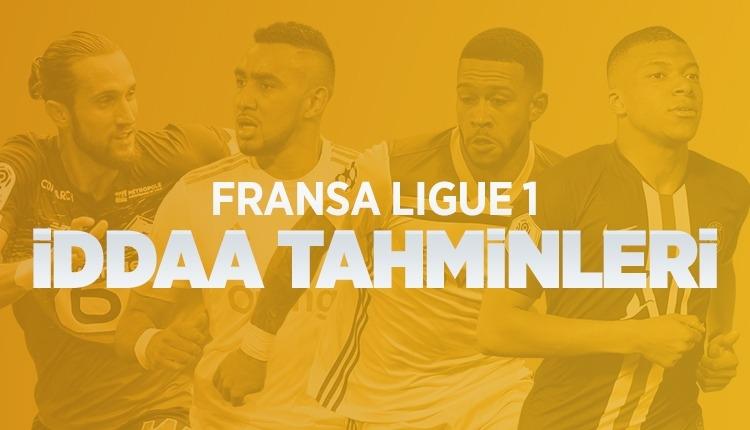 Fransa Ligi iddaa tahminleri (29 Kasım - 2 Aralık 2019)
