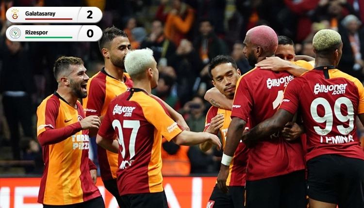 Galatasaray, Çaykur Rizespor'u rahat geçti (İZLE)