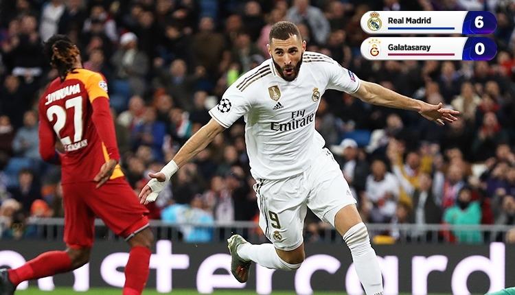 Galatasaray, Real Madrid'e 6-0 kaybetti (İZLE)