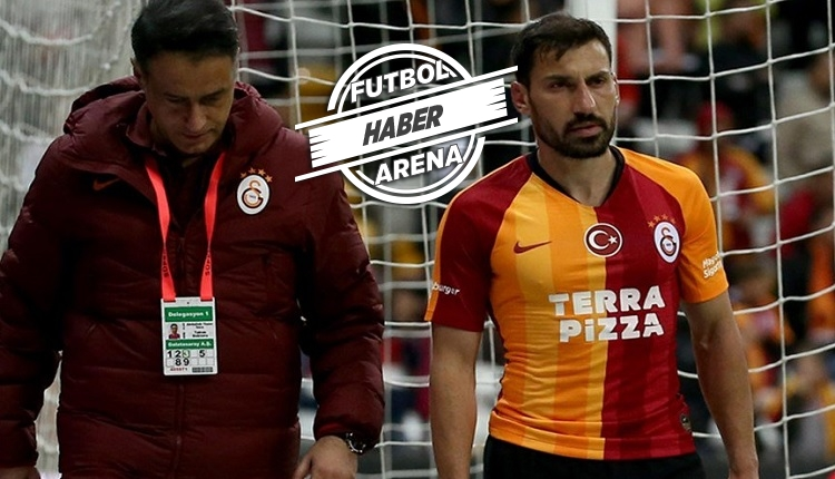 Galatasaray'a Şener Özbayraklı şoku! 1 ay yok
