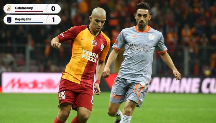 Galatasaray'a soğuk duş! Başakşehir tek golle kazandı (İZLE)