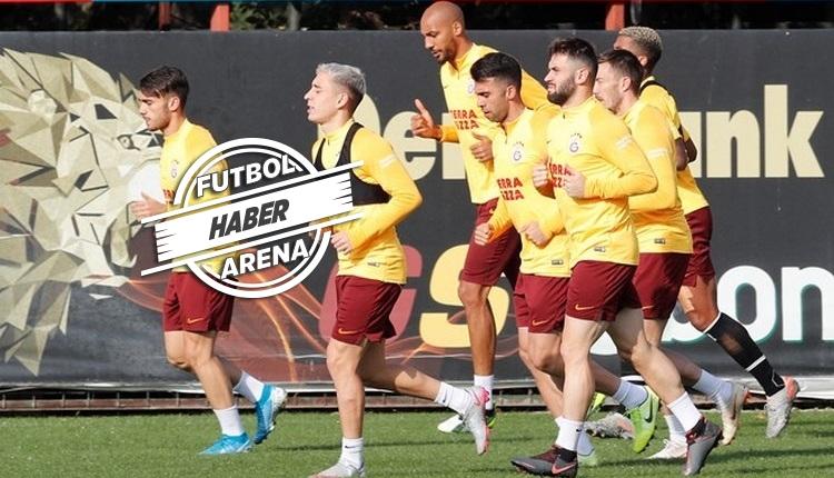 Galatasaray'da takımın yarısı tek idmanla maça çıkacak