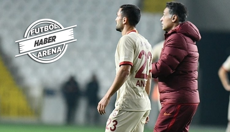 Galatasaray'dan Andone açıklaması! Sakatlık süresi?