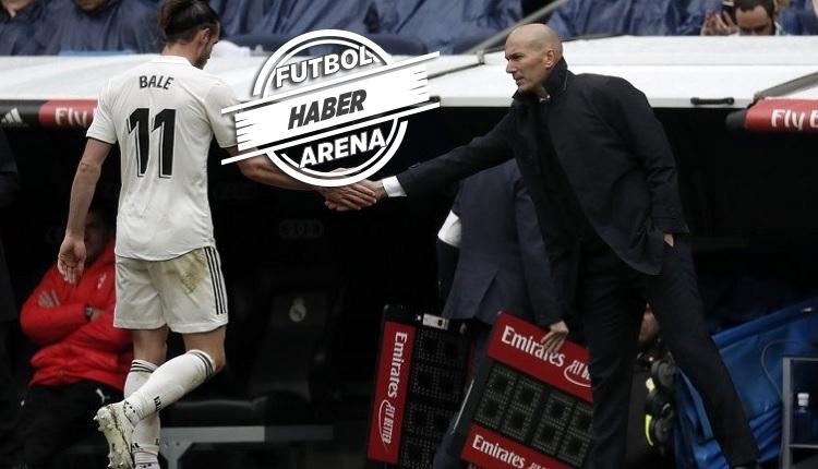 Galatasaray'ın rakibi Real Madrid'de Zidane'ı sinirlendiren hareket