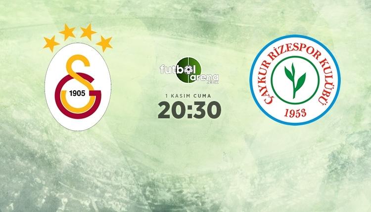 Galatasaray-Rizespor canlı izle, Galatasaray-Rizespor şifresiz İZLE (Galatasaray - Rizespor beIN Sports canlı ve şifresiz maç İZLE)