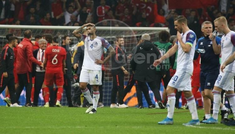 İzlanda'da Türkiye maçı sonrası penaltı isyanı!