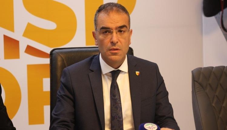 Kayserispor Başkanı Hamdi Elcuman: